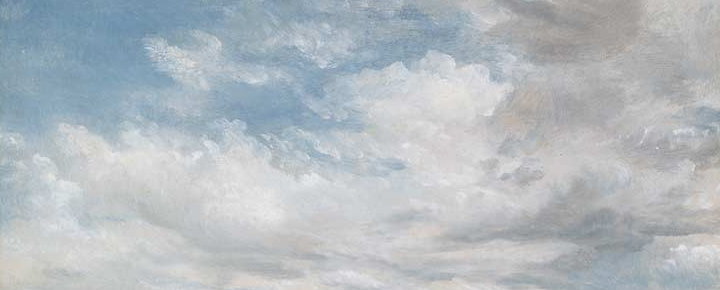 Image Credit: John Constable - Clouds (Detail) 1822 National Gallery of Victoria, Melbourne