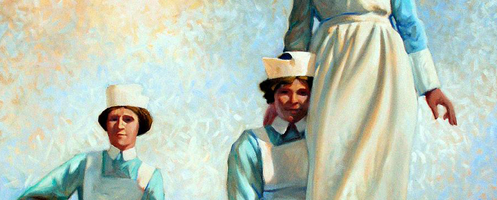 Image: Detail, Nurses Holiday, Kevin Lawrence Leveque